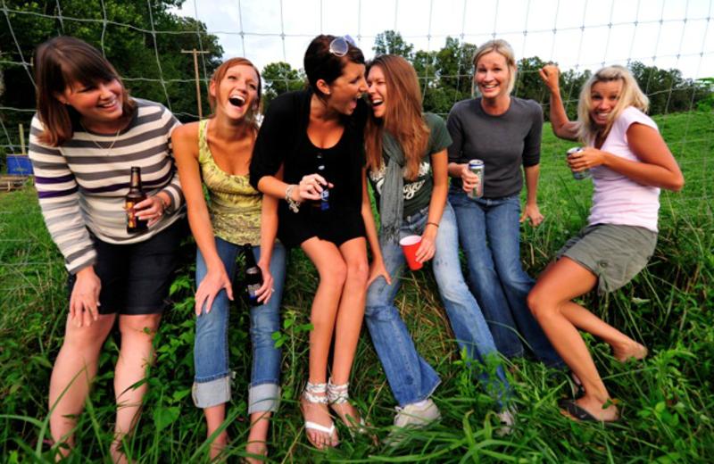 Bachelorette party at Elk Ridge Ranch.