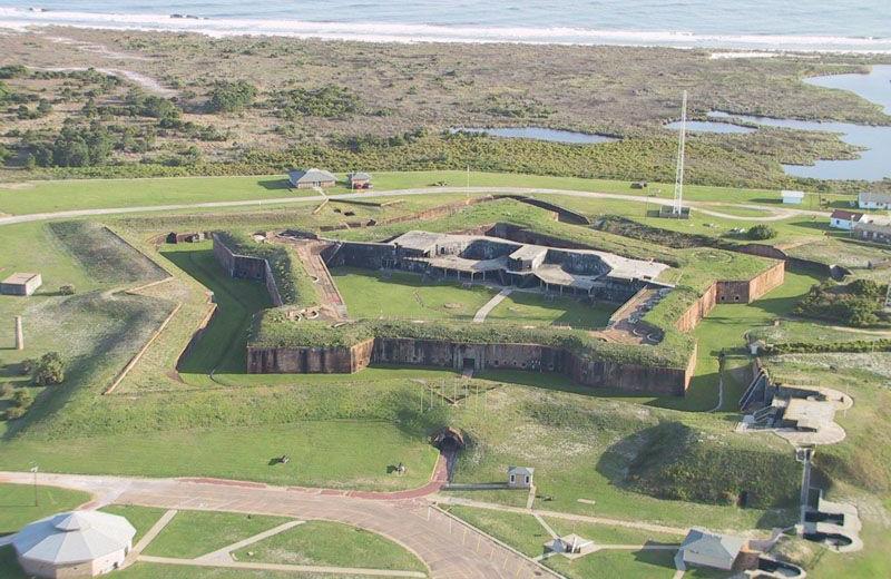 Fort near Luna Beach Properties.