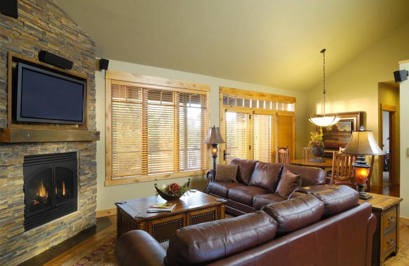 Cabin Interior at Brasada Ranch