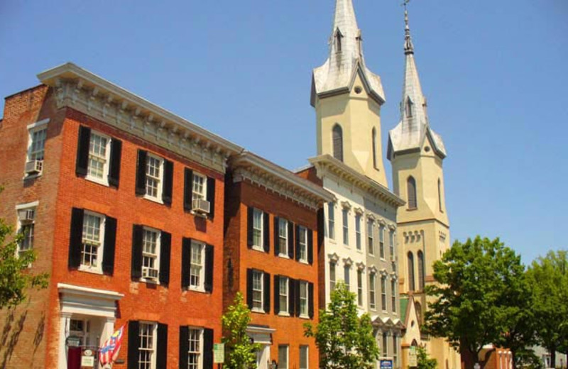 Historic Downtown near Best Western Historic Frederick