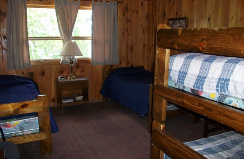 Guest room at Smitty's On Snowbank.