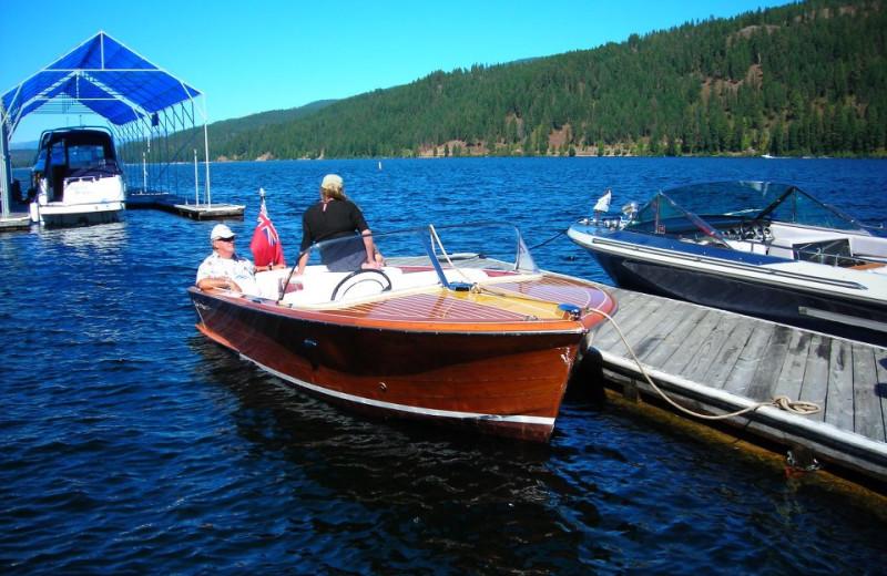 Boating at Blue Diamond Marina & Resort.