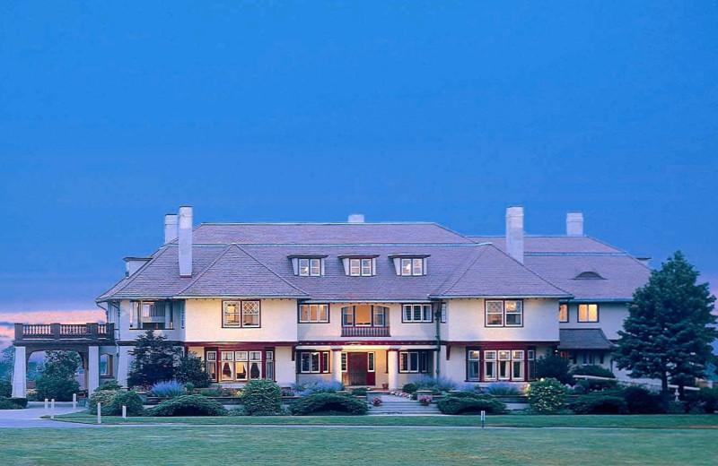 Exterior view of Ocean Edge Resort & Club on Cape Cod.