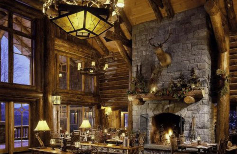 Lobby Area at The Whiteface Lodge