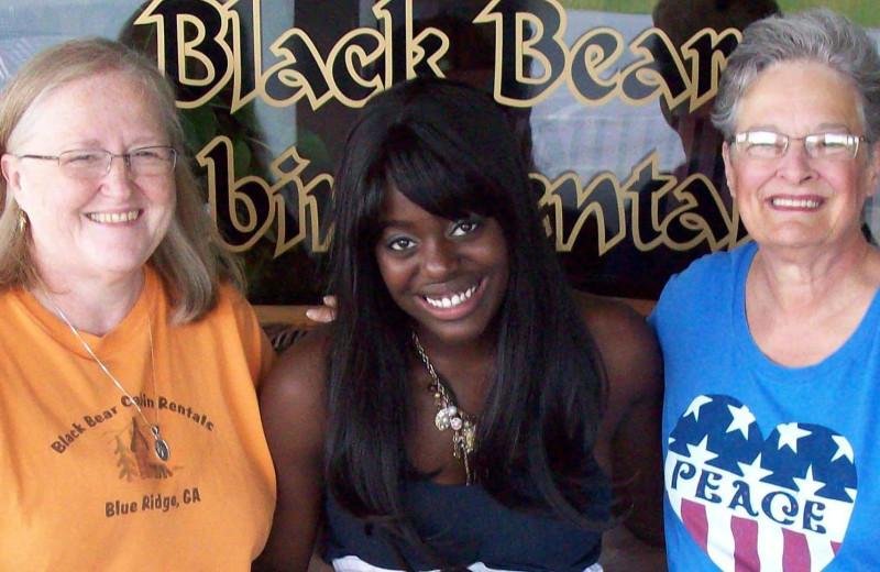 Friends at Black Bear Cabin Rentals.
