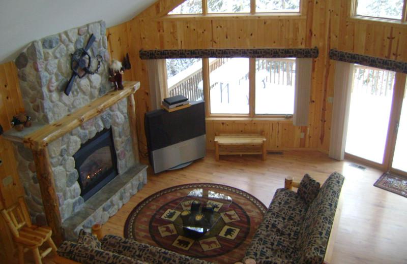 Lodge interior at Timber Bay Lodge & Houseboats.