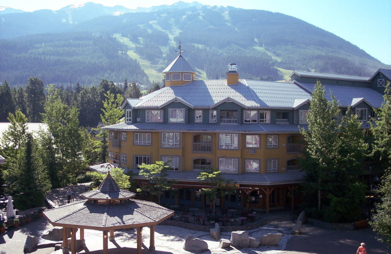 Exterior view of Whistler Town Plaza.