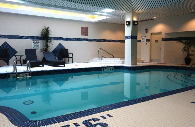 Indoor Pool at the Comfort Suites City Centre