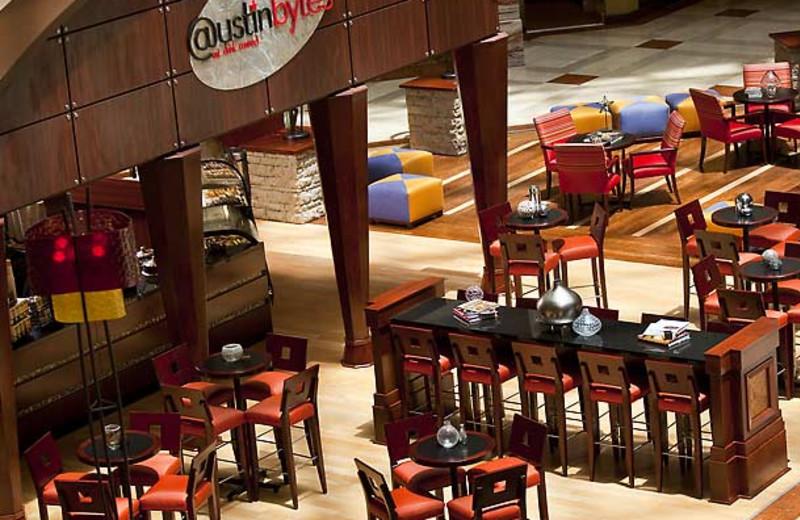 Dining at Renaissance Austin Hotel.