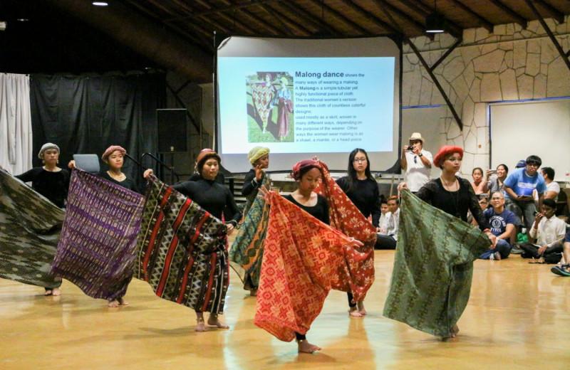 Cultural dance at Mo-Ranch.