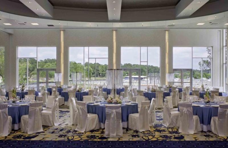Wedding reception at La Torretta Lake Resort.