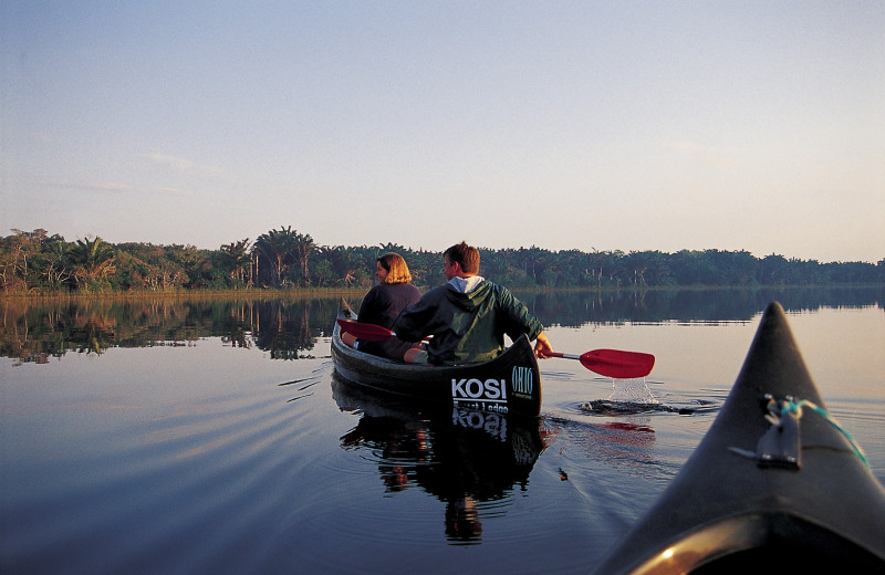 Canoeing at Kosi Forest Camp.