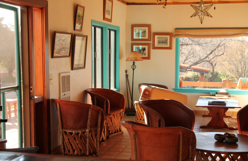 Lounge at Circle Z Ranch.