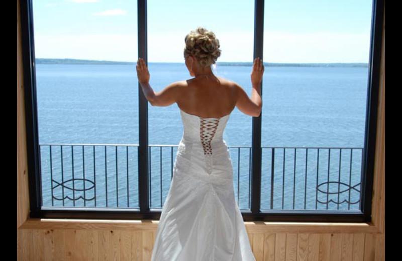 Wedding at Hiawatha Beach Resort.