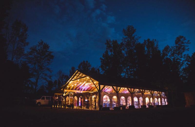 Pavilion at Riverbay Adventure Inn.