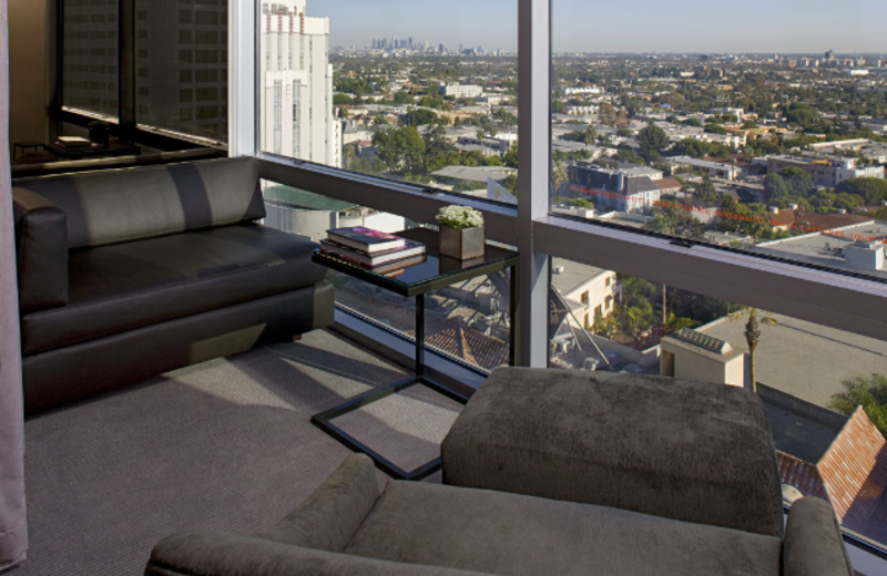 View from Guest Room at Andaz West Hollywood
