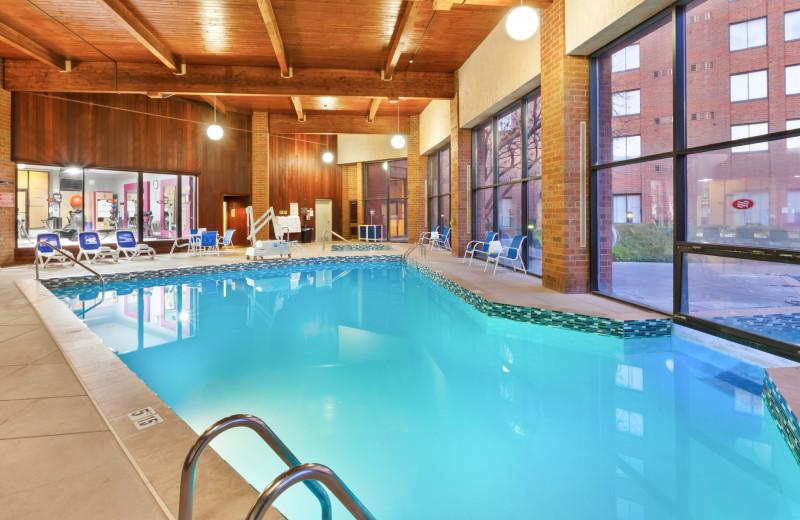 Indoor pool at Crowne Plaza Columbus North - Worthington.