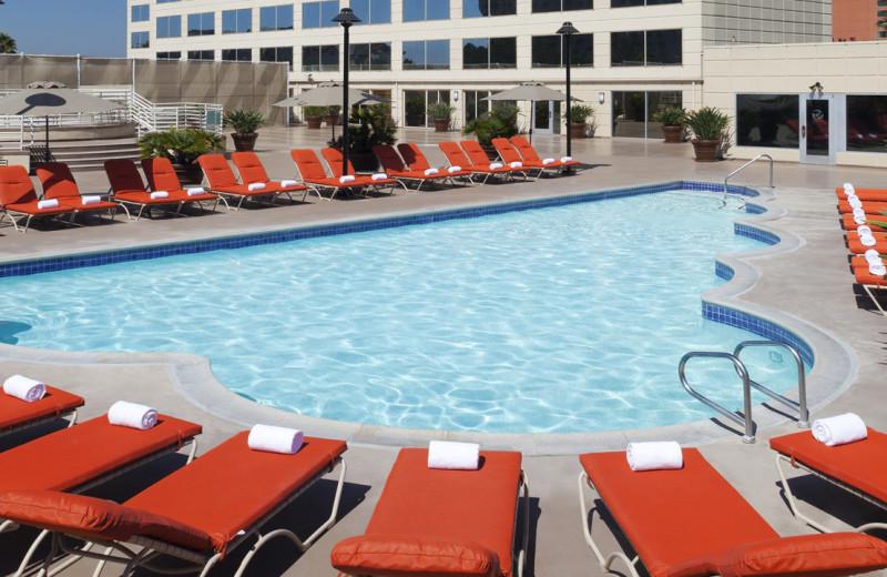 Outdoor pool at Hyatt Regency Orange County.