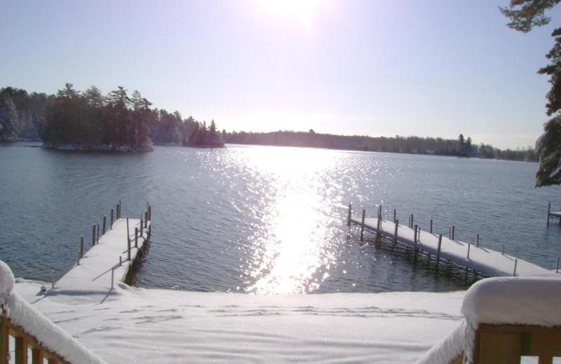 Dock View at Retreat Lodge & Resort