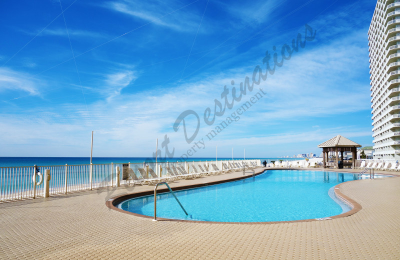 Rental pool at Resort Destinations.