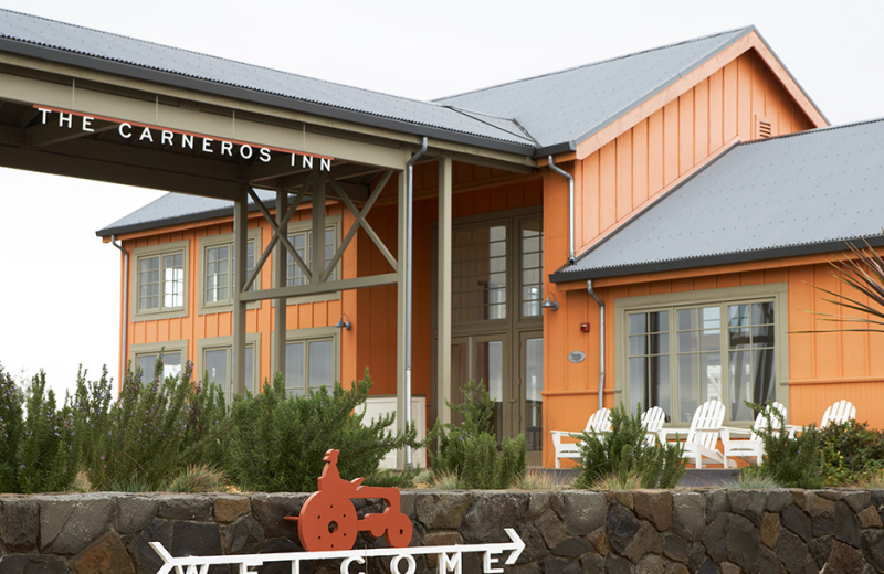 Exterior view of The Carneros Inn.
