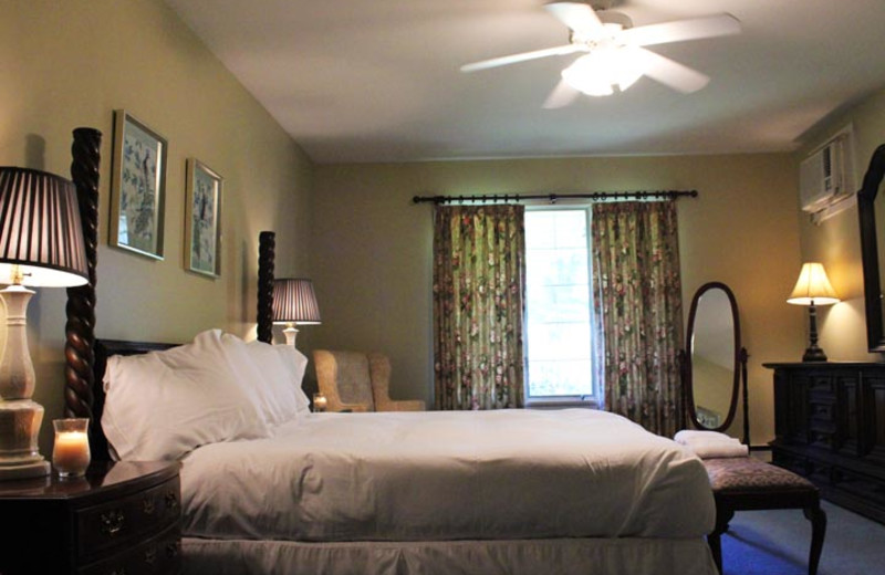 Guestroom at Water Gap Country Club.