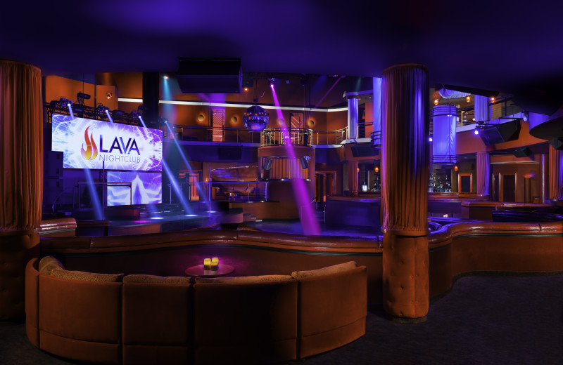 Lounge at Turning Stone Resort Casino.