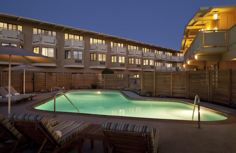 Outdoor pool at The Lodge at Tiburon.