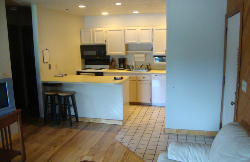 Rental kitchen at Axis West Realty Inc.
