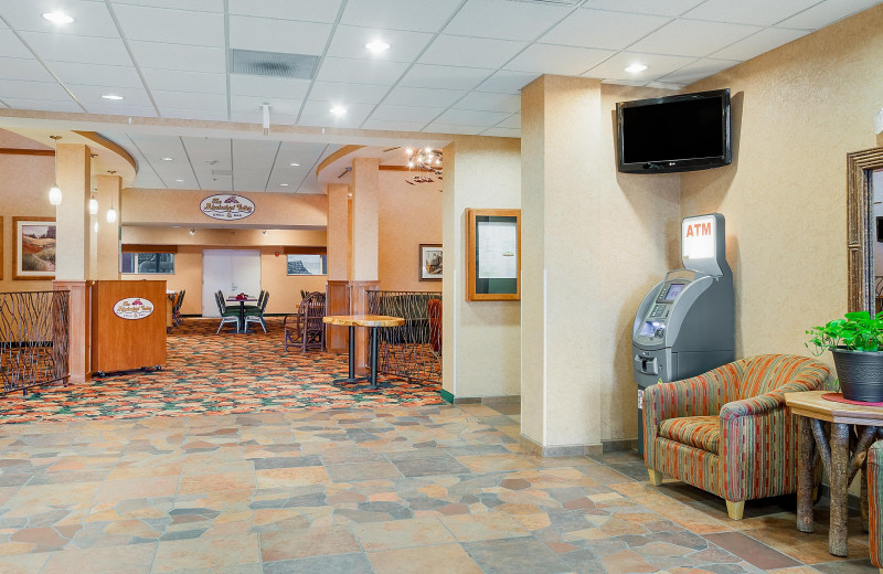 Lobby at Holiday Inn Minneapolis NW Elk River & Wild Woods Waterpark.