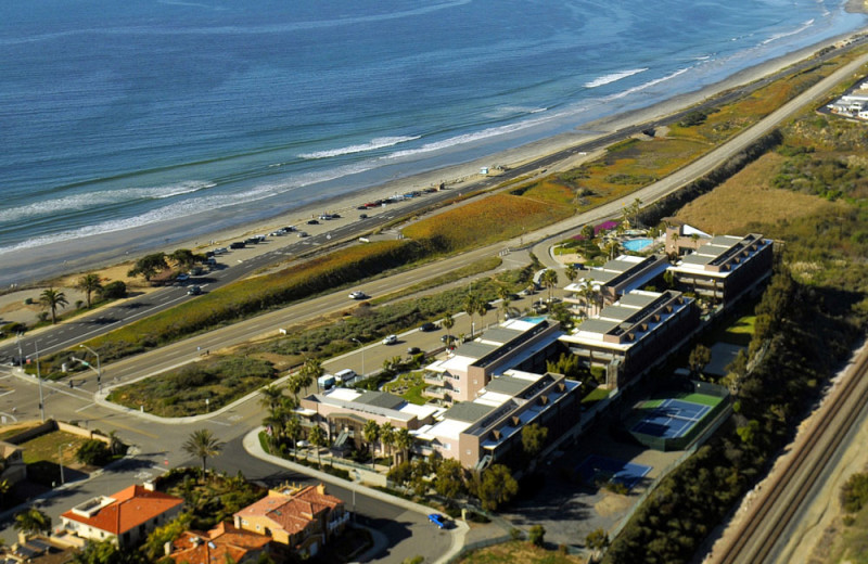 Aerial View of the Carlsbad Seapointe Resort