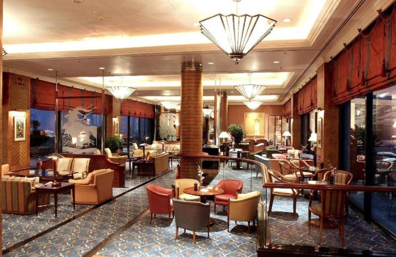 Lounge at Hanoi Daewoo Hotel.