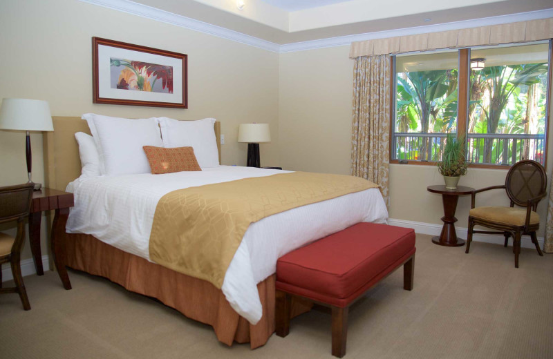 Guest room at Dolphin Bay Resort & Spa.