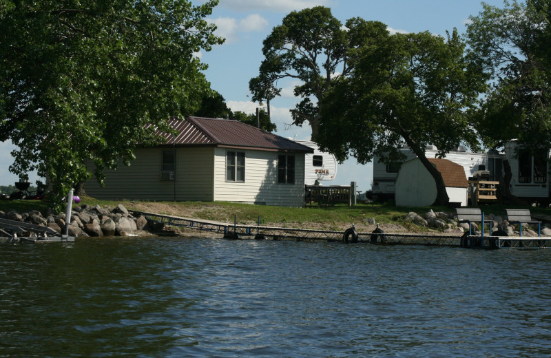Cabins at Ten Mile Lake Resort -Otter Tail Country Lakes Tourism.