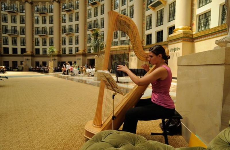Entertainment at French Lick Resort.