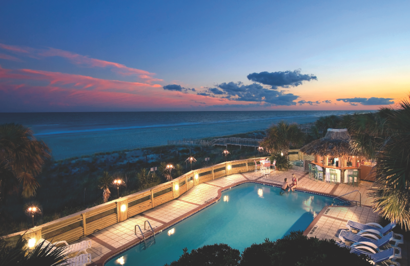 Outdoor pool at The Winds Resort Beach Club.