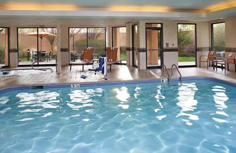 Indoor pool at Courtyard Detroit Utica.