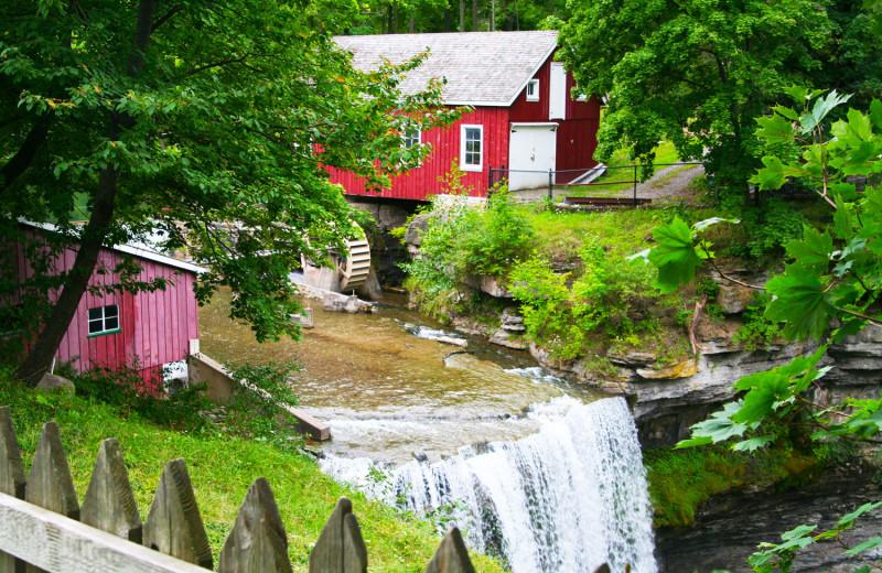 Decew Falls near Vine Ridge Resort.