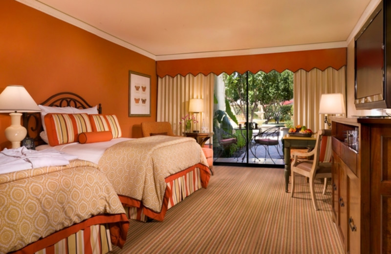 Guest room at MiraMonte Resort & Spa.