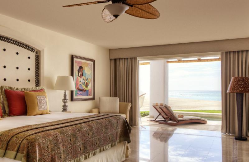 Guest room at Marquis Los Cabos.