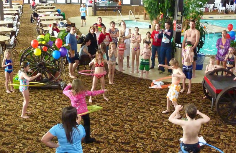 Groups at Cragun's Resort and Hotel on Gull Lake.