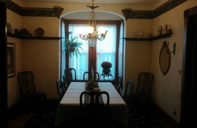 Dining room at Ottaway Inn LLC.