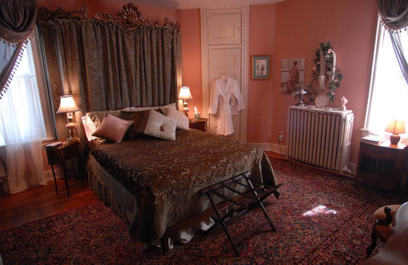 Guest room at Grace Manor Inn.