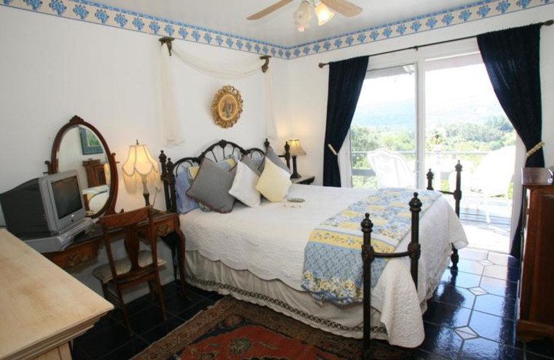 Guest room at Hillcrest Bed & Breakfast.