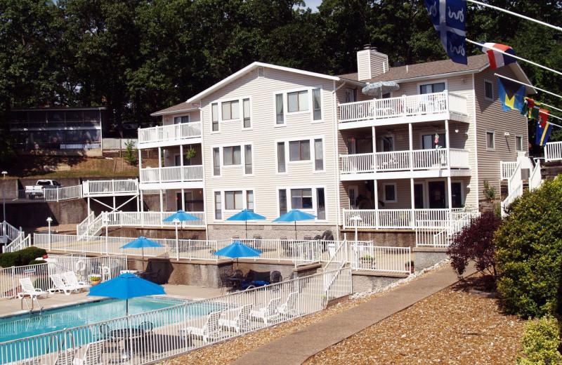 Exterior view of Kapilana Resort.