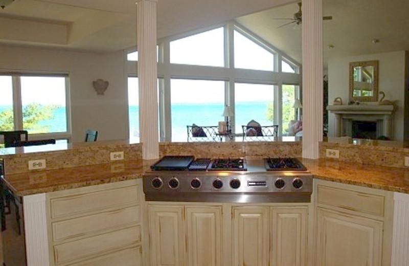 Penthaus Kitchen at The Beach Haus Resort