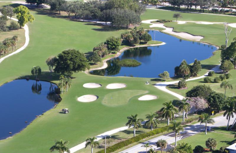 Golf course at The Naples Beach Hotel & Golf Club.