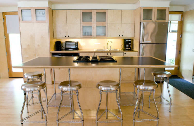 Guest kitchen at Inn On Columbia.