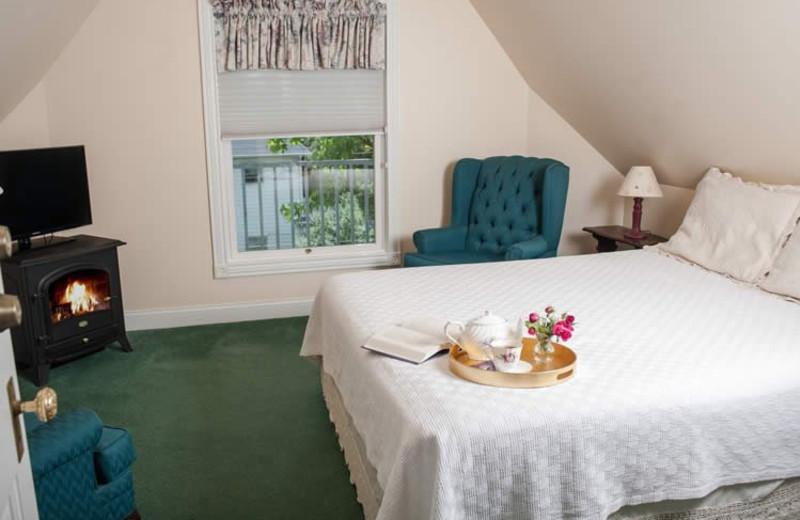 Guest room at Market Street Inn.