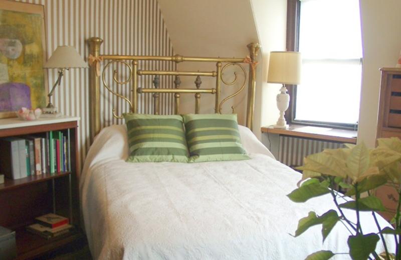 Guest room at Inn Between Bed & Breakfast.